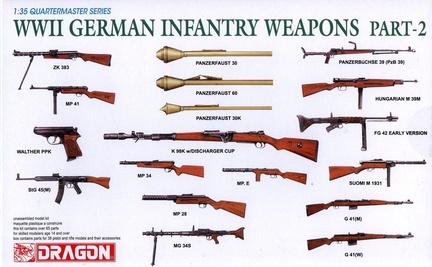 Dragon-1-35-3816-WWII-German-Infantry-Weapons-Part2